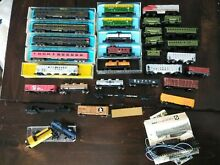 31 rolling n scale train cars atlas