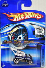 Hot wheels 2006 151 blue factory