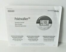 Pokewalker manual only no game