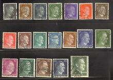 Germany sc 506 524 used except 515