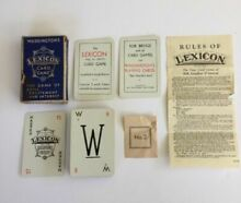 Lexicon card game waddington s