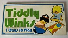 Tiddly winks board game