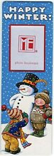 Pooch sweetheart photo bookmark