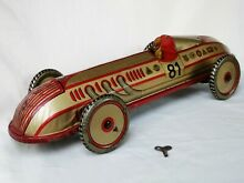 Saalheimer racing car rennwagen tin