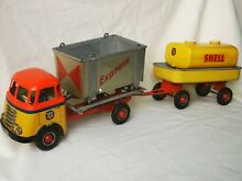 Daf container tin toy car express