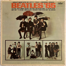 The 65 mono 1964 vinyl lp capitol