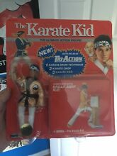 Karate kid action figure red card