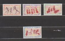 Chad 1968 rock paintings set mint