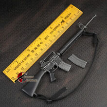 1 6 black us army m16 rifle model