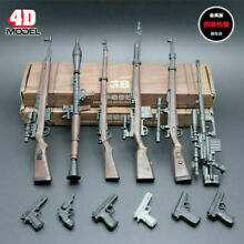 1 6 scale 6pcs 4d rifle assembly