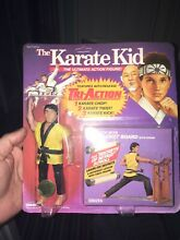Karate kid unpunched carded figure