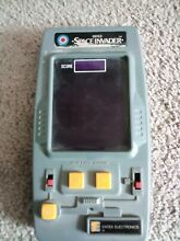 Space invaders handheld electronic