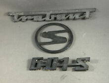 2 stroke 601 original car badges