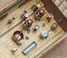 Ho scale distillery equipment