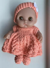 Dolls chubby baby doll new knitted