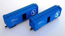 Blue box h0 scale set 2x 40ft sd