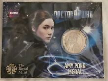 Amy pond medal coin by the royal