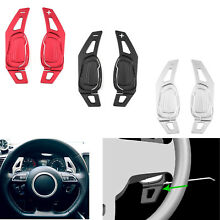 Steering wheel shift lever paddle