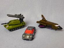 Lot de 3 decepticon g1 80 stunticon