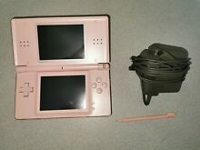 Lite pink console charger and