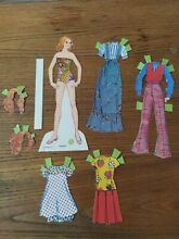 Paper doll quick curl 1973