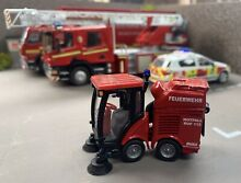 1 50 fire brigade road sweeper rare