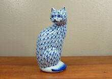 Hand painted blue white porcelain