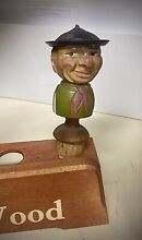 Italy wooden hand carved art cork