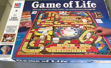 Game of life by family board game
