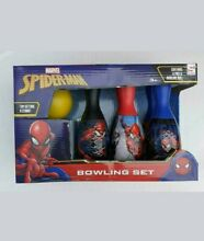 Spiderman bowling set kids game