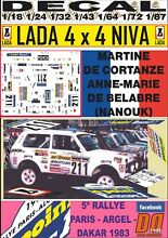 Decal 4x4 martine de cortanze paris