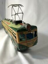 1950s train tin toys animal express
