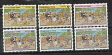 Timbres tchad chad 1992 lutte