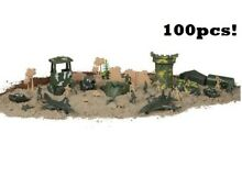 300 pc green plastic toy soldiers