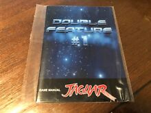 Double feature 1 game manual