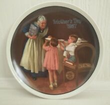 Plate mother s day 1987 authentic