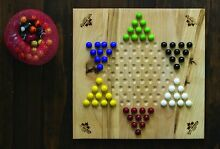 Classic chinese checkers game