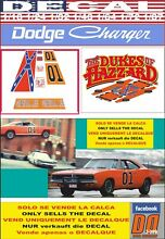 Decal dodge charger 1969 the dukes