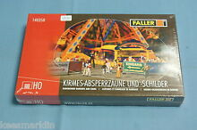 140358 fairground barriers and