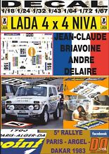 Decal 4x4 jean claude briavoine