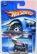 Hot wheels 2006 151 blue w