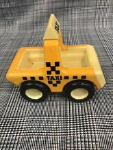 Rare tonka china taxi car 1987 rear
