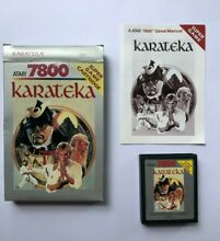 Karateka boxed complete tested and