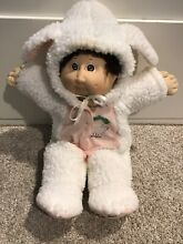 Cpk doll brown hair 1982 bunny suit