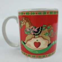 Russ berrie christmas coffee mug