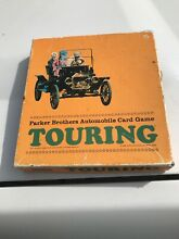 Touring automobile game 1965 cards