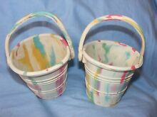 Rubber seaside bucket childs toy