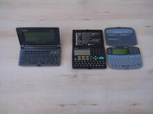 Casio digital diary sf 6700