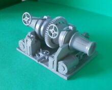 Steam anchor winch in 1 24th scale