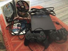 Sony playstation 2 black unit